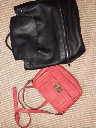 lote mochila y bolso