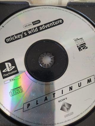 Juego PS1 Mickey's Wilde Adventure