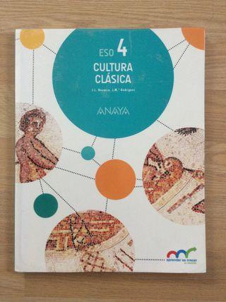 Cultura clásica 4 ESO