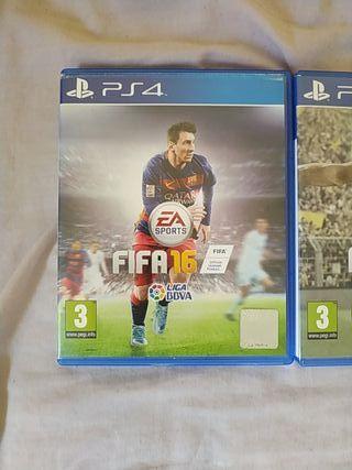 FIFA 19 , 18 , 17 , 16