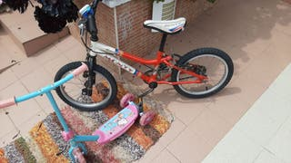 bicicleta infantil marca Monty