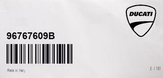 Alarma original DUCATI 96767609B