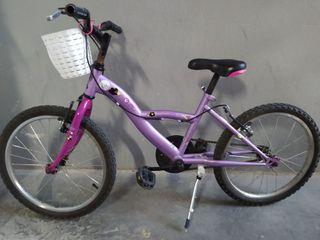 bicicletas infantiles de 16 y 20 pulgadas