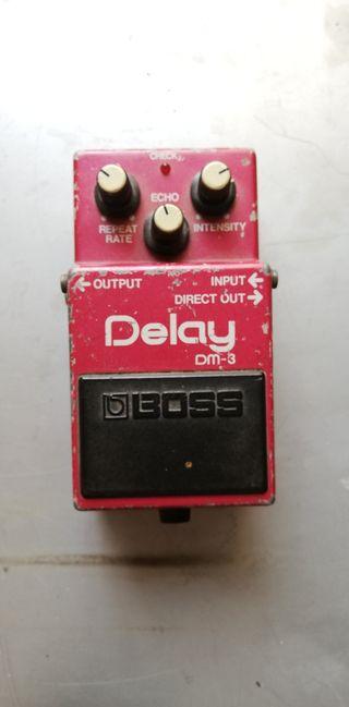 Pedal Guitarra Boss Delay DM-3
