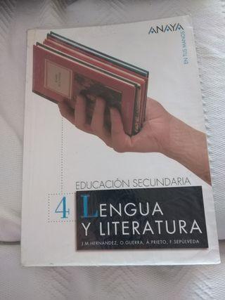 Libro Lengua y Literatura 4