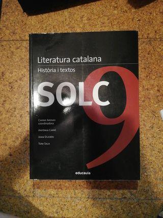 libro Solc 9 Literatura Catalana Història i textos