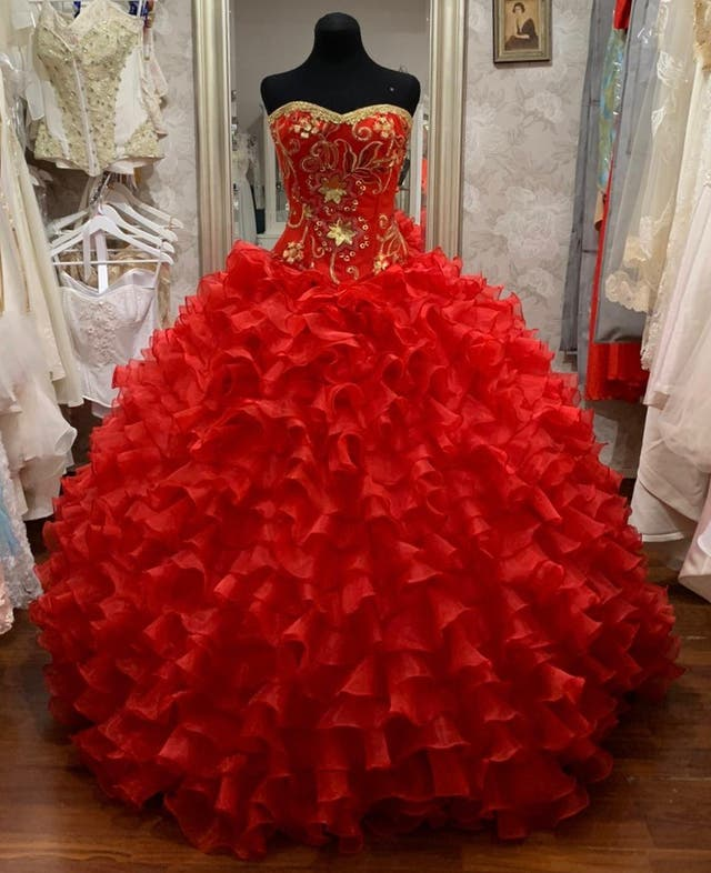 Vestido Quinceañera ALQUILER