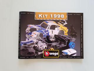 Catálogos Burago 1998