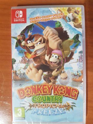 donkey kong country natural freeze (precintado)