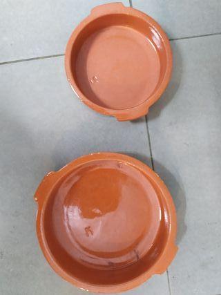 Platos de ceramica para horno nuevos