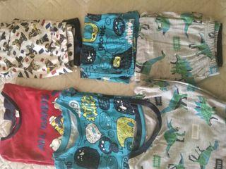 Lote Pijamas Niño 6-7 años.