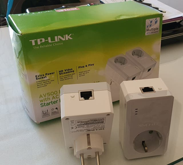 TP-Link, Kit PLC Internet