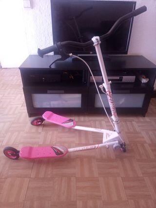 Patinete elíptico 3 ruedas