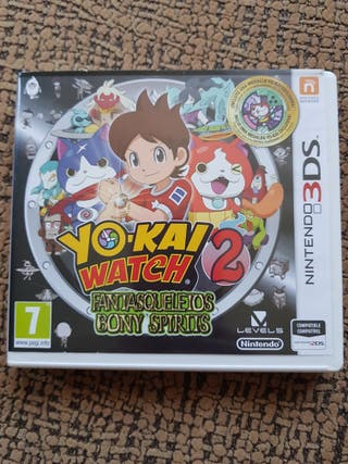 YO-KAI WATCH 2 FANTASQUELETOS PARA 3 DS
