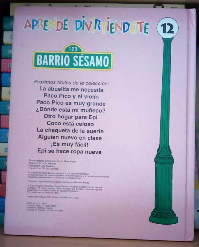 Colección Barrio Sésamo (16unid )