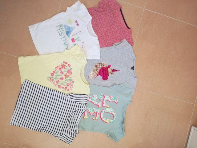 camisetas talla 7 a 8 años