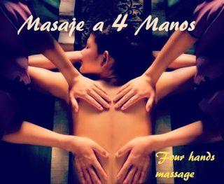 Masaje fuzion 4 manos