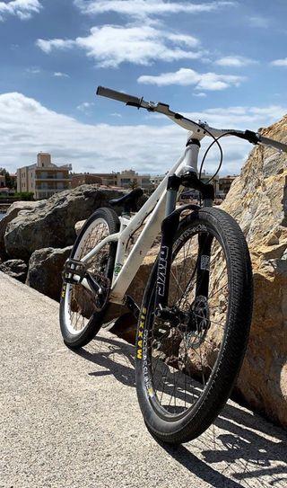Bicicleta dirt jump