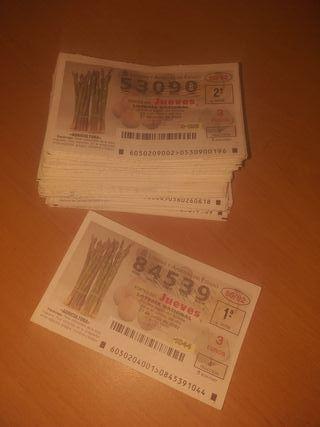 Decimos Loteria Nacional Sorteo del Jueves