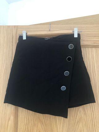 Falda-Pantalón con botones