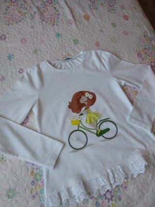 Camiseta niña bici Mayoral Talla 8