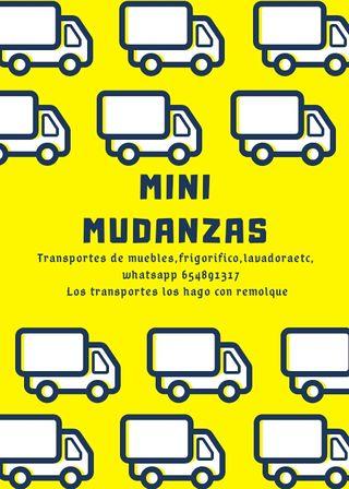 Mini Mudanzas 654891317 Transportista.