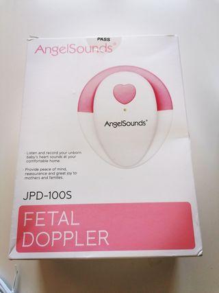 Angel sounds detector fetal con auriculares y gel