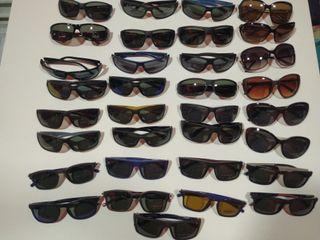 gafas de sol curvada polarizadas Lotus