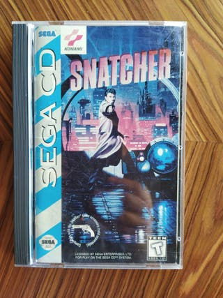 Snatcher Sega CD completo 100% original