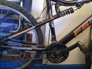 Bicicleta segunda mano montaña y paseo