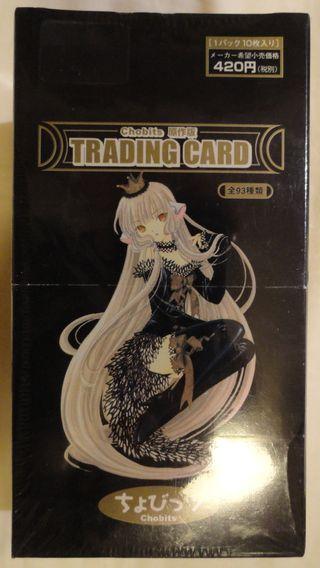 Chobits Trading Cards Black Box