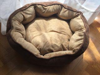 Cama tela perro pequeño