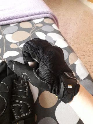 guantes de moto de mujer
