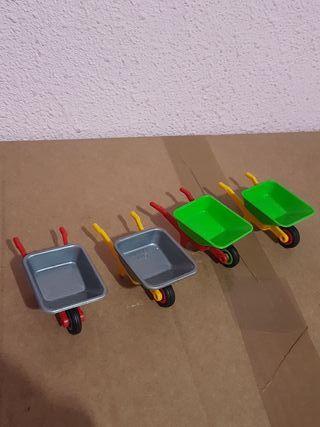 lote carretillas playmobil