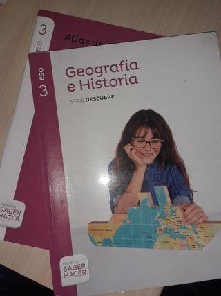 Libro geografía e historia 3°ESO