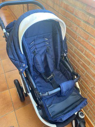 carrito de bebe nuevo sin uso ninguno!!