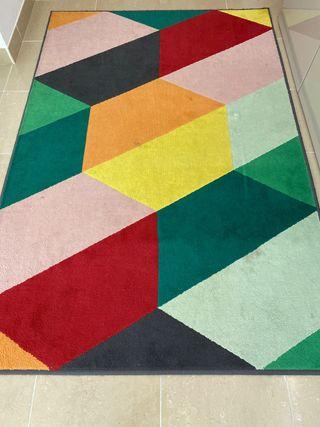 Alfombra con colores IKEA - 198x132