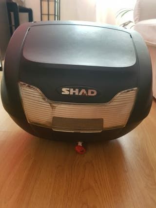 Baul con soporte para moto SHAD SH40
