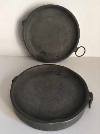 Calienta platos siglo XVIII