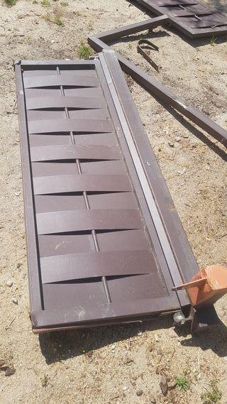 Puerta hierro trenzado (restos)