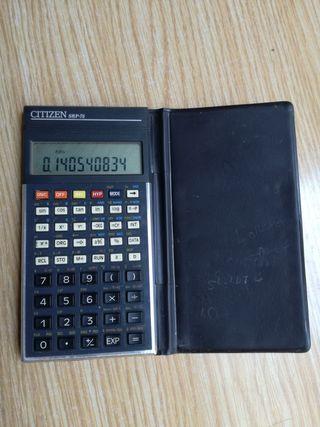 Calculadora científica CITIZEN SRP-75 Vintage, fu