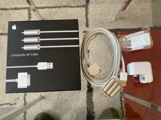 Apple Composite AV Cable iPhone y iPod blanco