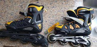 patines línea rollerblade 4siceadj