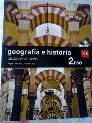 Libro 2° ESO Geografía e Historia.