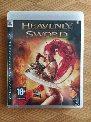 Heavenly Sword PS3 nuevo precintado en tienda