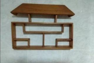 Casa colgante de pared madera