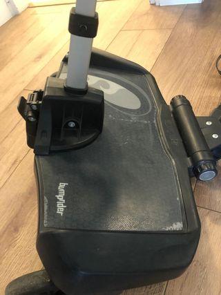 Patinete bumprider con asiento universal