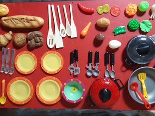 Set de cocinitas de juguete