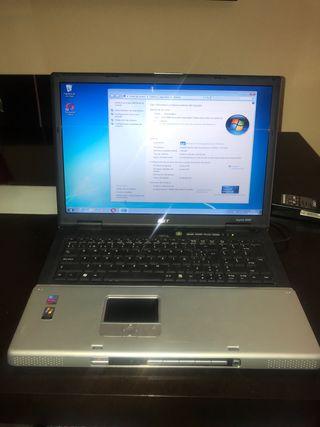 Ordenador portátil Acer Aspire 9500