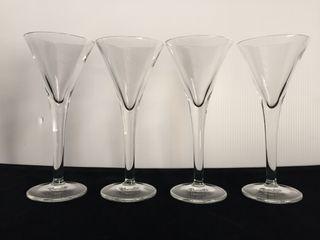 Copas de licor cristal